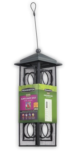 Pennington Seed Sunflower Bird Feeder, Black