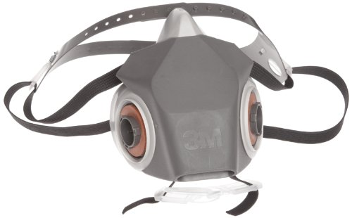 3M Half Facepiece Reusable Respirator Drop Down DD, Respiratory Protection 7502 of reusable respirator mask gas mask portable respirator protective fire masks