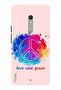 Noise Designer Printed Case / Cover for Motorola Moto X Play / Quotes/Messages / Peace Out Design