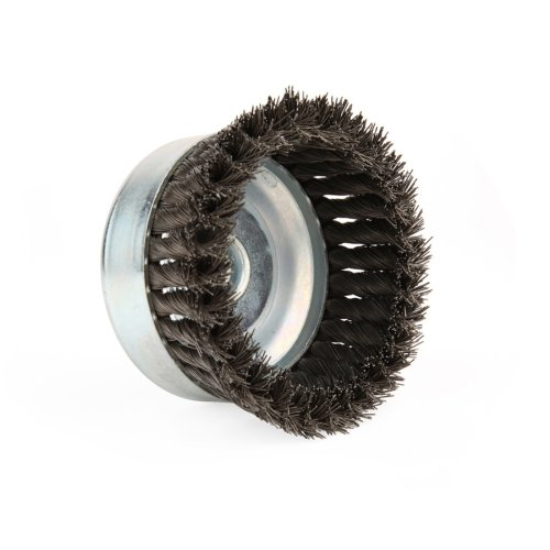 """Lincoln Electric Kh297 Single Row Knotted Cup Brush, 6600 Rpm, 6"""" Diameter, 5/8"""" X 11 Unc Arbor (Pack Of 1)"""