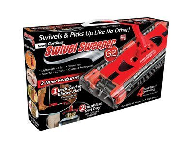 Cordless Swivel Sweeper - As Seen On TV (As Seen On Tv Sweeper compare prices)