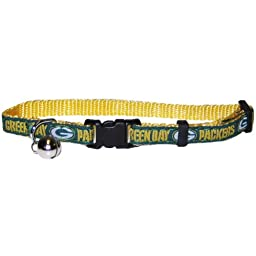 Pets First NFL Green Bay Packers Cat Collar