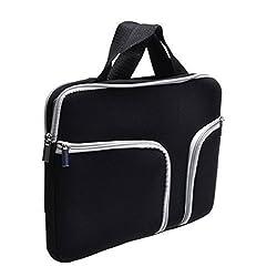 Laptop Sleeve,Go Crazzy Zipper Briefcase Soft Neoprene Handbag Sleeve Bag Cover Case for MACBOOK PRO 13.3 inch