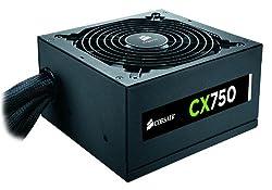 Corsair CX750 Builder Series ATX 80 PLUS Bronze Certified Power Supply