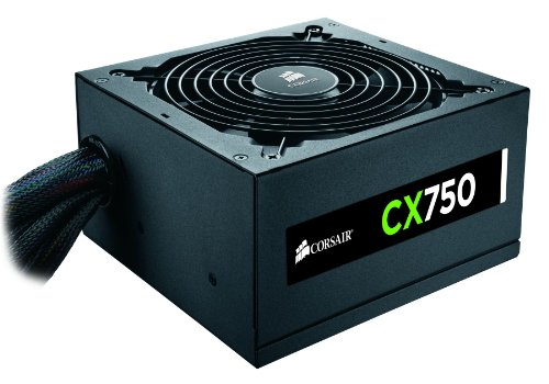 Review Of Corsair CX750 Builder Series ATX 80 PLUS Bronze Certified Power Supply