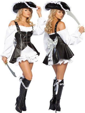 [Somali pirate costume vest stage uniforms temptations Halloween cosplay] (Somali Pirate Costume)