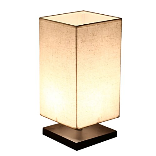 Finether Minimalist Novelty Romantic Wood Table Lamp for Bedroom Bedside Desk Lamp (Classic Lamp compare prices)