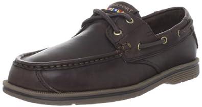 Rockport Men's Seacost Drive 2 Eye Boat Pinecone/Gum Boat Shoe K62472  9.5 UK , 44 EU , 10 US