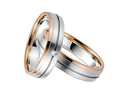 Rauschmayer pair of wedding rings Elements 50751