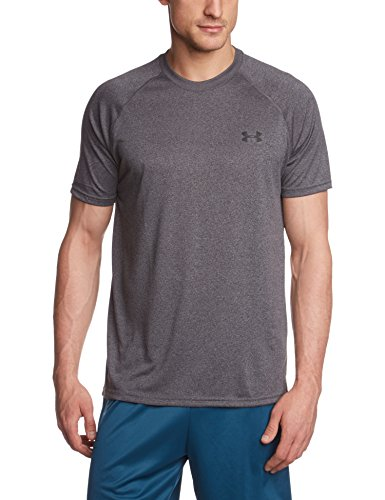 Under Armour Men's UA Tech Short Sleeve T-Shirt - Carbon Heather, X-Large