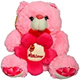 Sunshine Flower Teddy Bear - 16 Inches -Soft Toy (Pink)