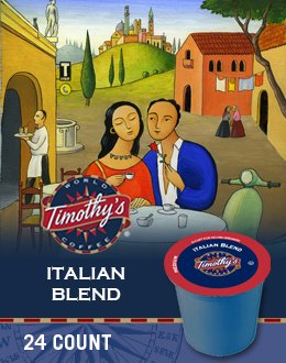 Timothy'S World Coffee Italian Blend K-Cup Coffee front-541533