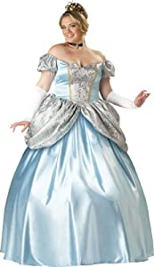 InCharacter Costumes, LLC Enchanting Princess Set, Blue, XXX-Large