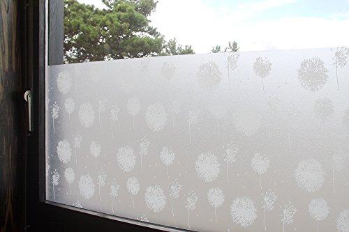 Statische fensterfolie glasfolien universal - Fensterfolie statisch anbringen ...