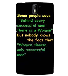 ONE PLUS ONE TEXT Back Cover by PRINTSWAG