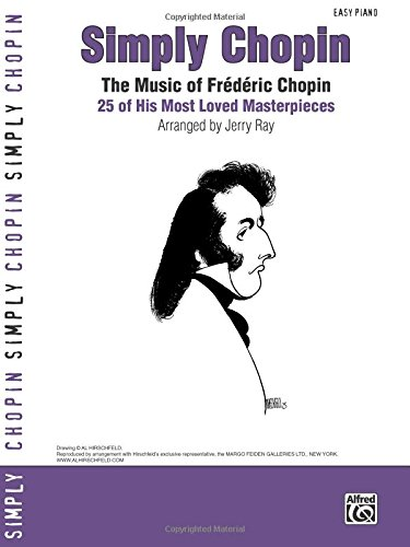 Chopin Simply Easy Piano (Simply Series)