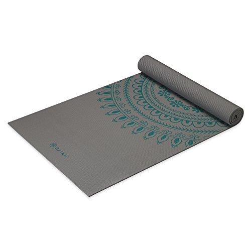 Gaiam Premium Print Yoga Mat Citron Sundial 5mm