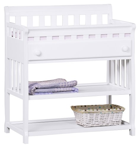 Delta Children's Products Silverton Changing Table, White