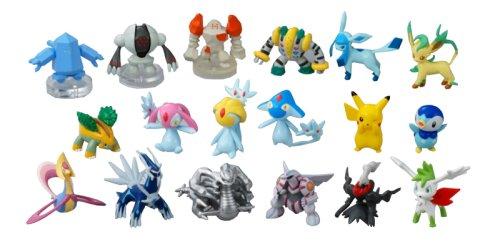 Generation 4 Legendary pokemon plastic action figure Darkrai 1-2 inches tall