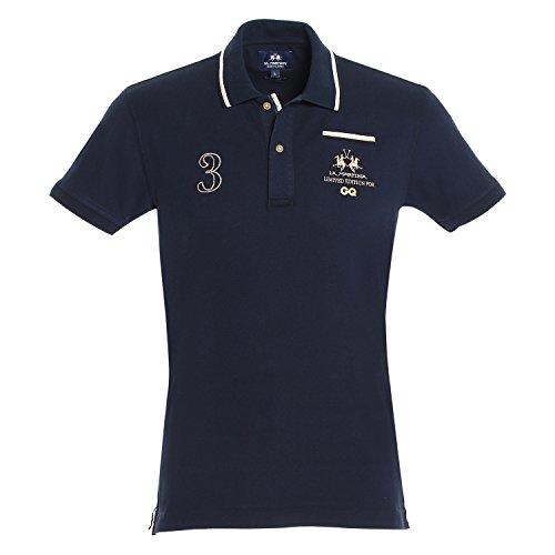 LA MARTINA - Polo GQ , Maglietta da uomo, 07017 navy, L