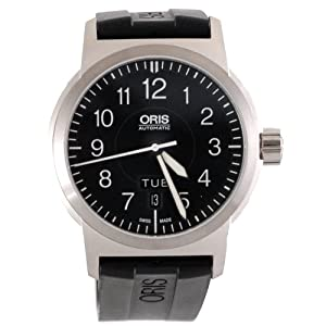 Oris Men's 735 7640 4164RS BC3 Sportsman Day Date Aviation Watch by Oris