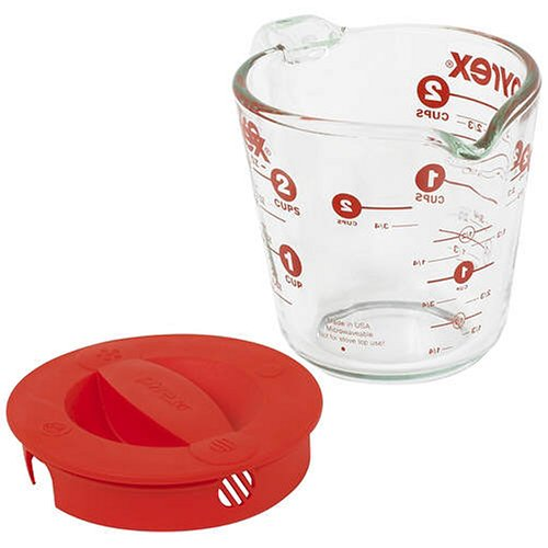 Pyrex Prepware 2-Cup Glass Measuring Cup with Lid (Cup 2 Year compare prices)