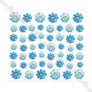 Pieadra ネイルシール 1シート ブルー