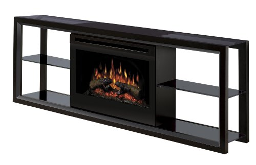 Dimplex Novara #SAP-300-B Electric Fireplace Media Console, Black image B002YQ2KKQ.jpg