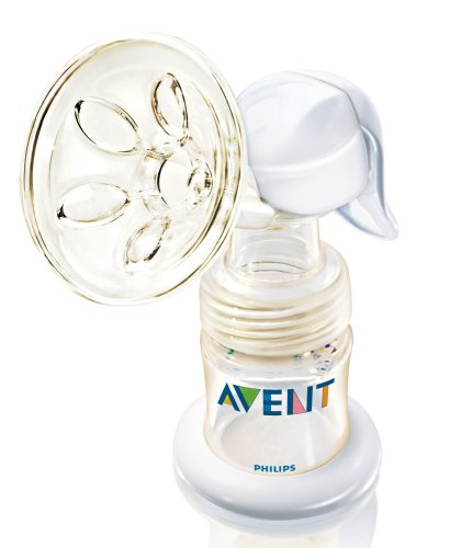Philips AVENT ISIS Manual Breast Pump, White (Discontinued by Manufacturer)
