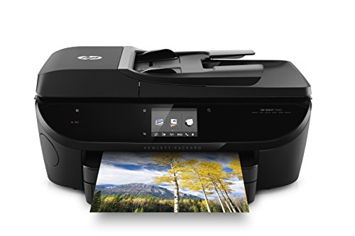 Top 6 - Hewlett Packard ENVY 7640 e-All-in-One Inkjet Printer (E4W43A#B1H) Black