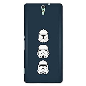 CrazyInk Premium 3D Back Cover for SONY C5 ULTRA - STAR WARS