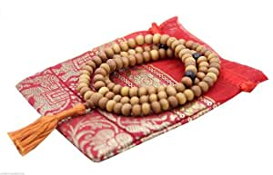 Mala, Sandalwood (Meditation Rosary) with pouch