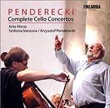 ペンデレツキ:チェロ協奏曲全集