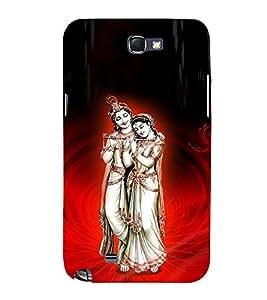 Satyavrata Krishna 3D Hard Polycarbonate Designer Back Case Cover for Samsung Galaxy Note 2 :: Samsung Galaxy Note 2 N7100