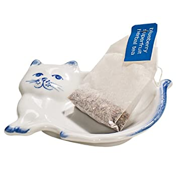 Kitten Tea Bag Caddy