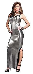 Suddenly Fem Crossdress and Drag Queen Platinum Stunner Gown