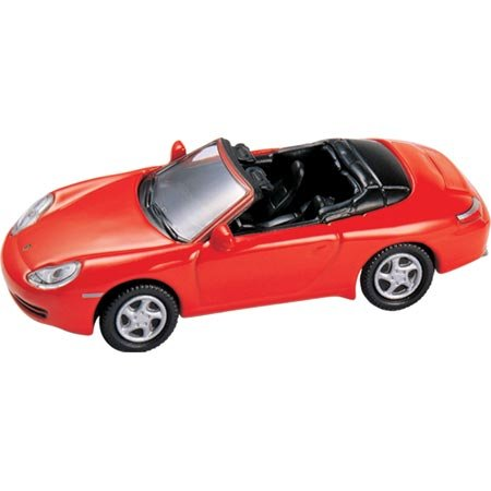 HO Die-Cast 1997 Porsche 911 Carrera Cabrio, Red - Buy HO Die-Cast 1997 Porsche 911 Carrera Cabrio, Red - Purchase HO Die-Cast 1997 Porsche 911 Carrera Cabrio, Red (Model Power, Toys & Games,Categories,Play Vehicles,Trains & Railway Sets)