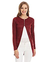 Deal Jeans Women's Body Blouse Top (20533_Maroon_X-Large)