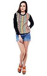 iamme Jacquard front Full Sleeves Top