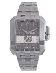 RSW Men's 7110.MS.S0.52.00 Crossroads Grey Automatic Stainless-Steel Bracelet Watch