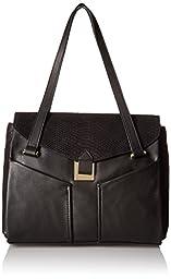 Vince Camuto Zuri Satchel Shoulder Bag, Black, One Size