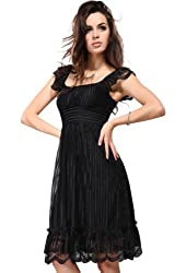 Ever Pretty Women's Lace Empire Cap Sleeve Casual / Cocktail Party Dress 02713
