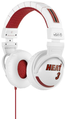 Skullcandy Hesh Over-Ear Headphone with In-Line Microphone and Control Switch SGHEBZ-17 (Dwyane Wade)