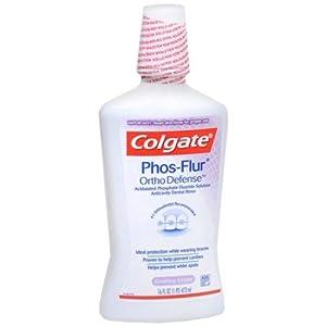Colgate Phos-Flur Anti-Cavity Fluoride Rinse, Gushing Grape - 16 Oz