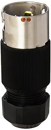 hubbell cs8365l locking plug 50 amp 3 phase 250v 3 pole. Black Bedroom Furniture Sets. Home Design Ideas
