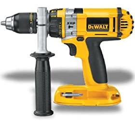 Bare-Tool DEWALT DC988B Heavy Duty XRPTM 1/2-inch 18-Volt Cordless Hammerdrill/Drill/Driver (Tool Only, No Battery)