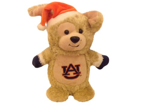 Auburn University Tigers 8-inch Plush Christmas Dog with Mittens and Santa Hat at Amazon.com