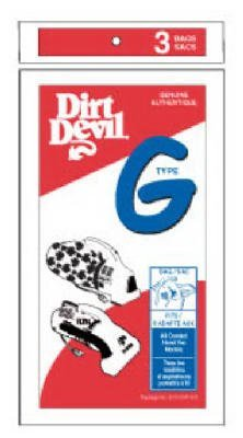 3 Royal Dirt Devil Style G Vacuum Bags, Genuine OEM Type (Hoover Bags Type R compare prices)