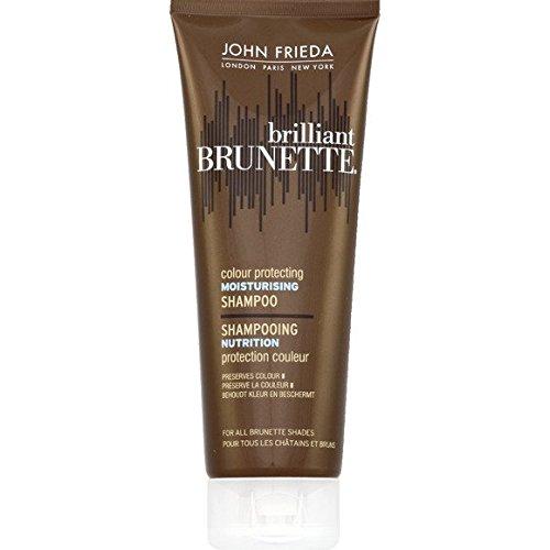 John Frieda - Shampooing nutrition protection couleur Pour tous les cheveux châtains et bruns - Le tube de 250ml - (pour la quantité plus que 1 nous vous remboursons le port supplémentaire)