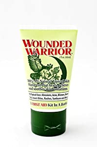 2oz. Wounded Warrior All Natural Topical Ointment by Wounded Warrior